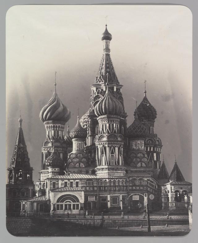 Храм Василия Блаженного на Красной площади в Москве, 1860
