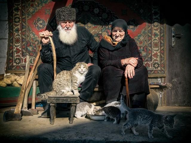 Номинация «Фотопроект», 2020. Ботлих. Между небом и землёй. Республика Дагестан. Автор Андрей Смольников