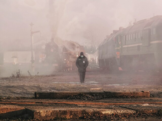 Финалист в номинации «Снято на смартфон», 2021. «Карельская атмосфера 2020». Автор Александр Державин