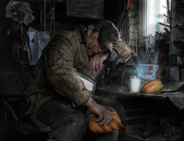 Финалист в номинации «Снято на смартфон», 2021. «Перерыв». Автор Наталья Болотенкова