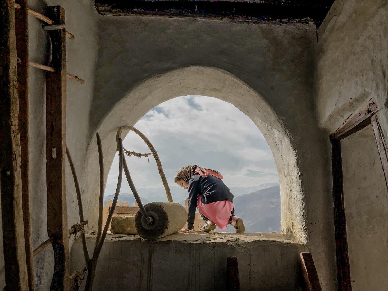 Финалист в номинации «Снято на смартфон», 2021. Дагестанская девочка. Автор Диана Смыкова