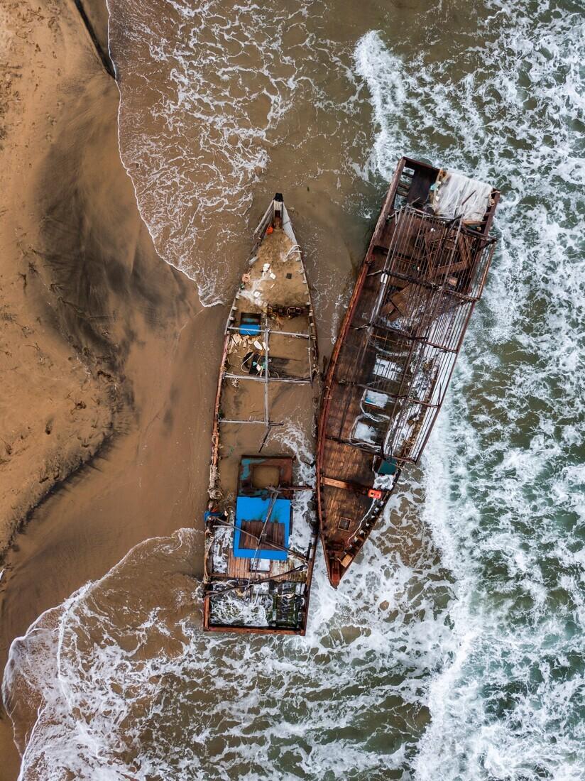 Финалист в номинации «Фотопроект», 2021. «Затонувшие корабли Приморья». Автор Александр Сухарев