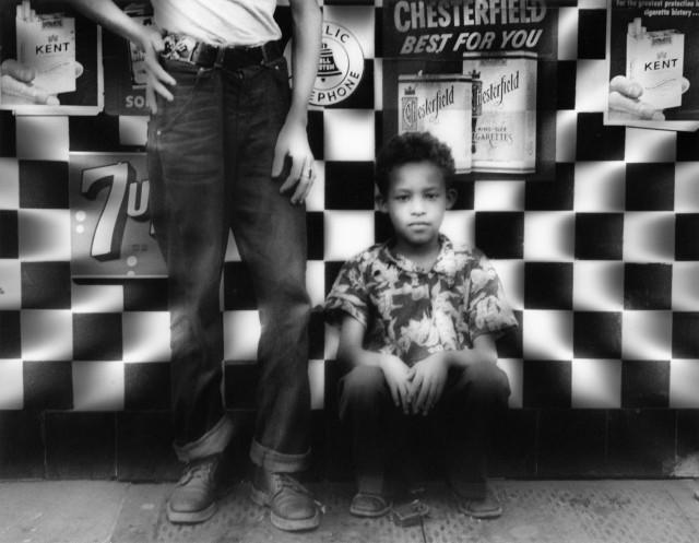 Кондитерская, Амстердам-Авеню, Нью-Йорк, 1955 год. Фотограф Уильям Кляйн