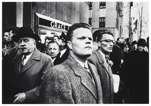 Нью-Йорк, 1955 год. Фотограф Уильям Кляйн