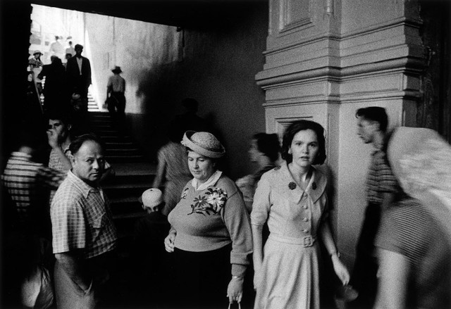 ГУМ, Москва, 1959 год. Фотограф Уильям Кляйн