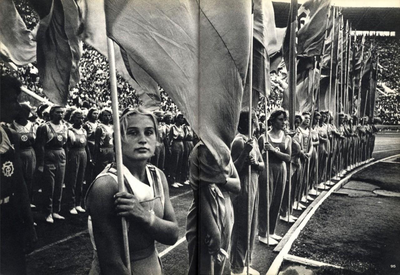 Советская молодёж, Москва, 1959 год. Фотограф Уильям Кляйн