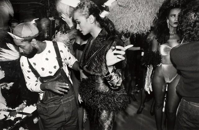 Патрик Келли, из серии за кулисами, 1987 год. Фотограф Уильям Кляйн