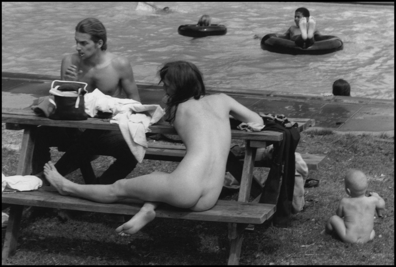Коммуна МакКой в Новато, Калифорния, 1968. Фотограф Деннис Сток