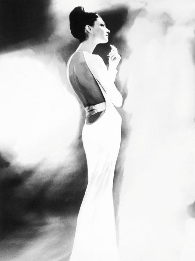 Женщина в белом. Автор Лилиан Бассман