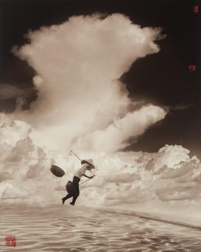 Песчаная буря, Вьетнам, 1969. Фотограф Дон Хонг-Оай