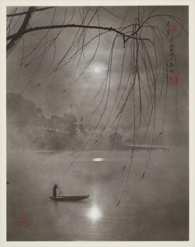 Зимний туман на реке. Автор Дон Хонг-Оай
