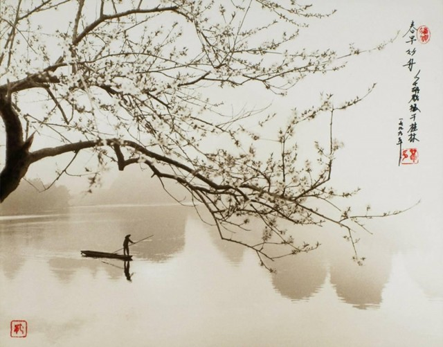 На озере. Автор Дон Хонг-Оай