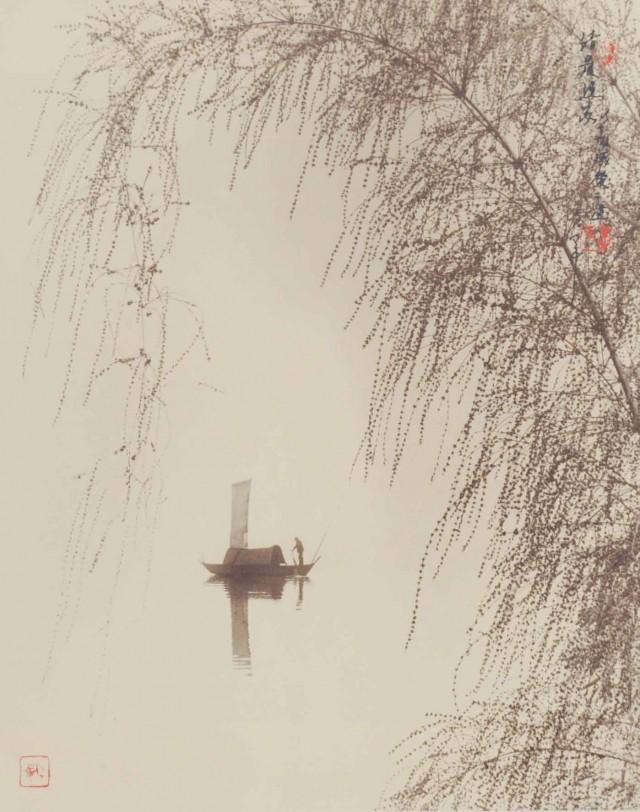 На реке. Автор Дон Хонг-Оай