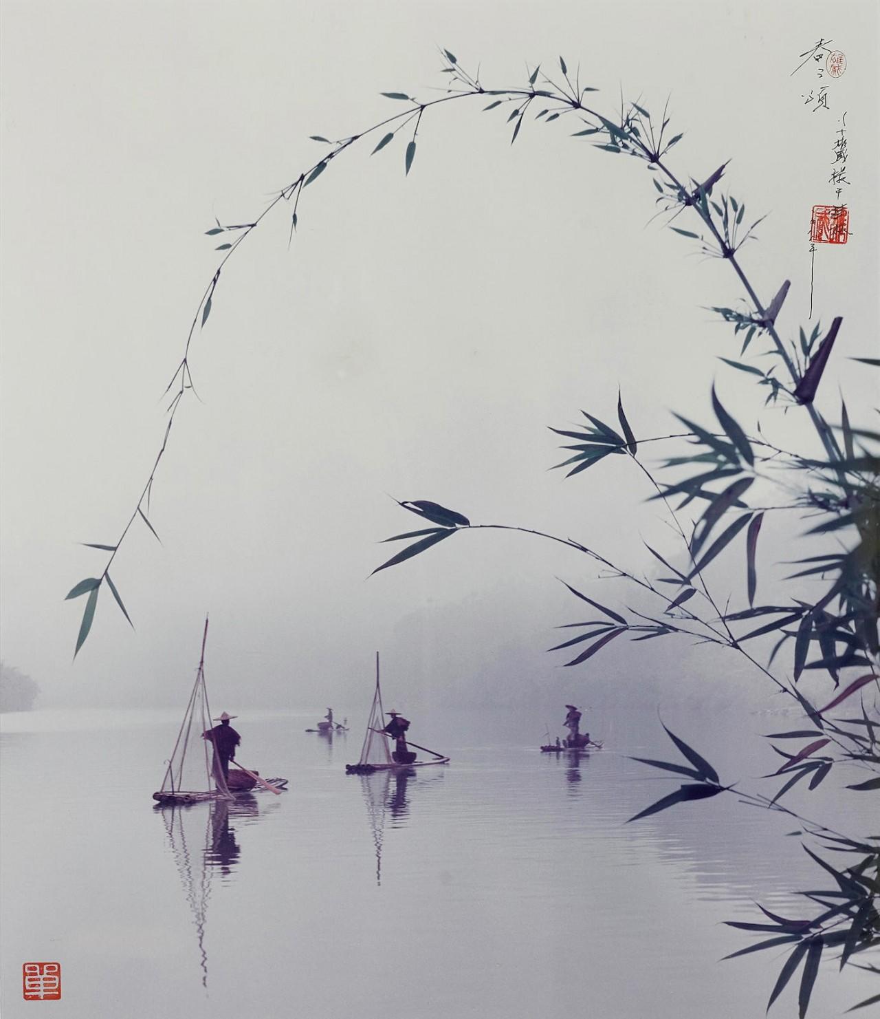 Рыбаки, 1988. Автор Дон Хонг-Оай
