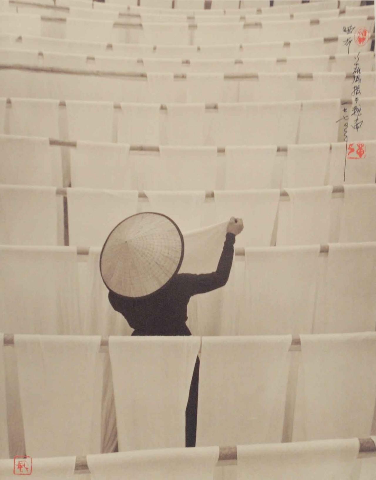 Сушка ткани, 1964. Автор Дон Хонг-Оай