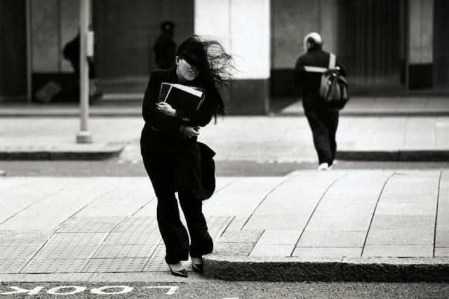 Ветрено, Лондон. Автор Уолтер Ротуэлл