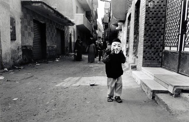 На улице Гизы, Египет. Автор Уолтер Ротуэлл