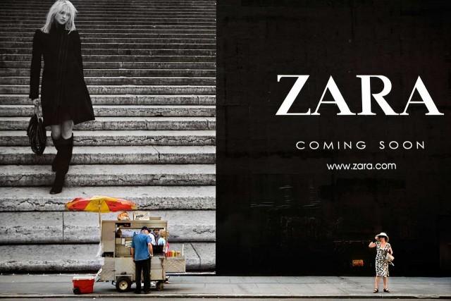 Zara, 2008. Автор Натан Двир
