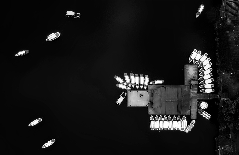 «Лодки». Финалист в категории «Пейзаж и природа», 2020. Автор Гуангуй Гу
