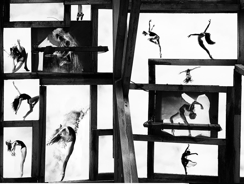 «Танцовщица в окне». 1 место в категории «Абстрактное и современное», 2020. Автор Джуй-цзин Тай