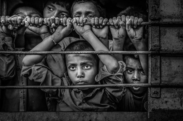 «Ожидание». 2 место в категории «Фотожурналистика - Документальное фото». Автор Юнхуа Цзэн