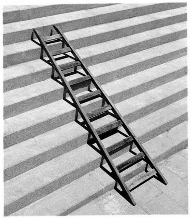 Ступени и лестница. Автор Чема Мадоз