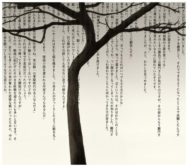 Дерево и иероглифы, 2009. Автор Чема Мадоз