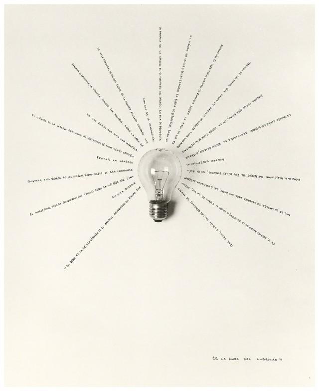 Лампочка, 2006. Автор Чема Мадоз