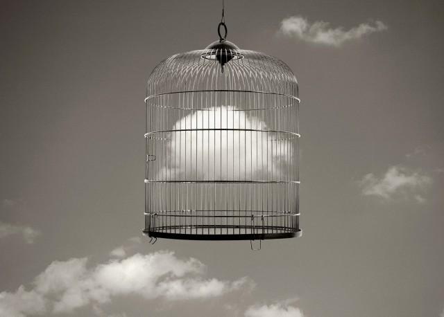 Облако в птичьей клетке, 2003. Автор Чема Мадоз