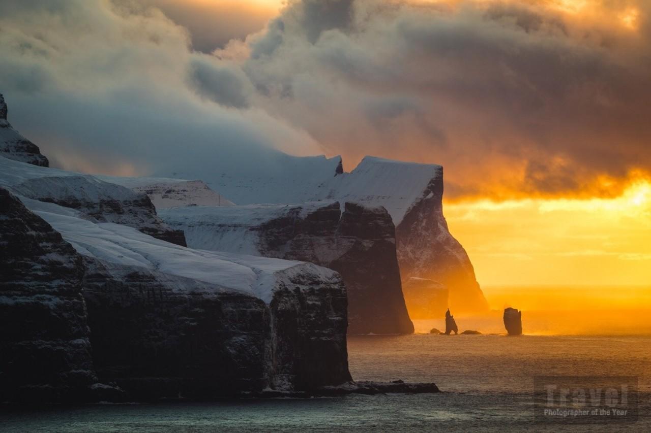 Высоко оценённое в категории «Туристическое портфолио», 2020. Кальсой, Фарерские острова. Фотограф Алессио Мезиано