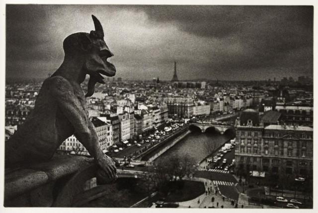 Горгулья, Нотр-Дам, Париж. Автор Андреас Ланг