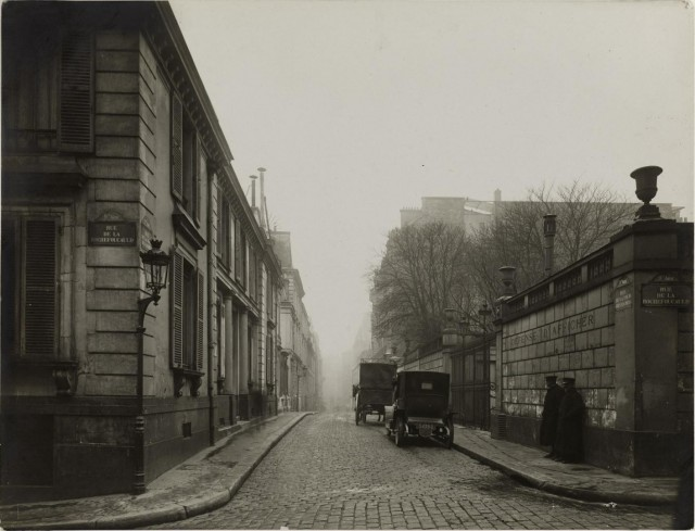 Улица, Париж, 1919. Автор Лансио Шарль Жозеф Антуан