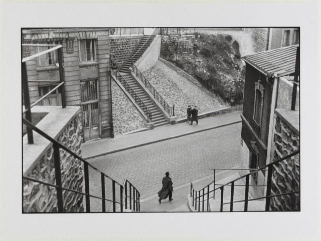 Крымская улица, Париж, 1952. Автор Анри Картье-Брессон
