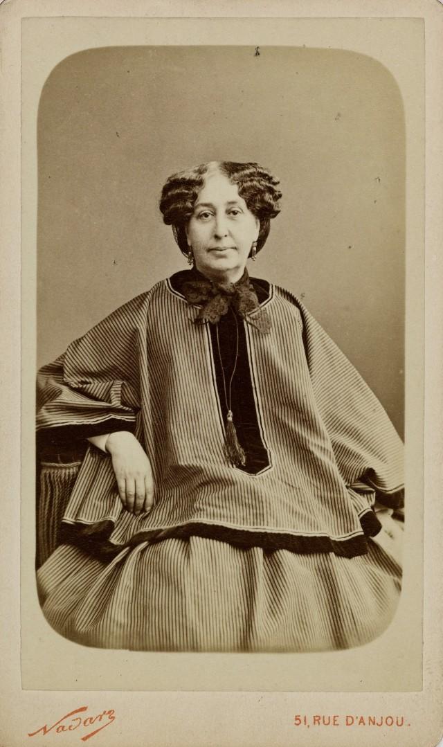 Жорж Санд (Амандина Аврора Люсиль Дюпен), 1860-1876. Автор Надар