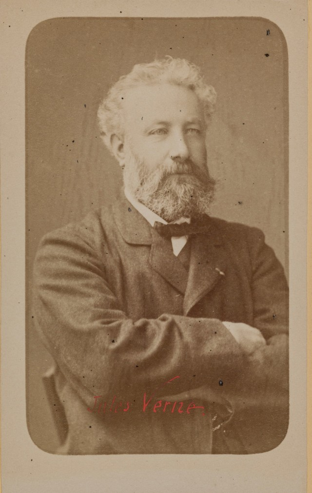 Жюль Верн, 1860-1890. Автор Надар