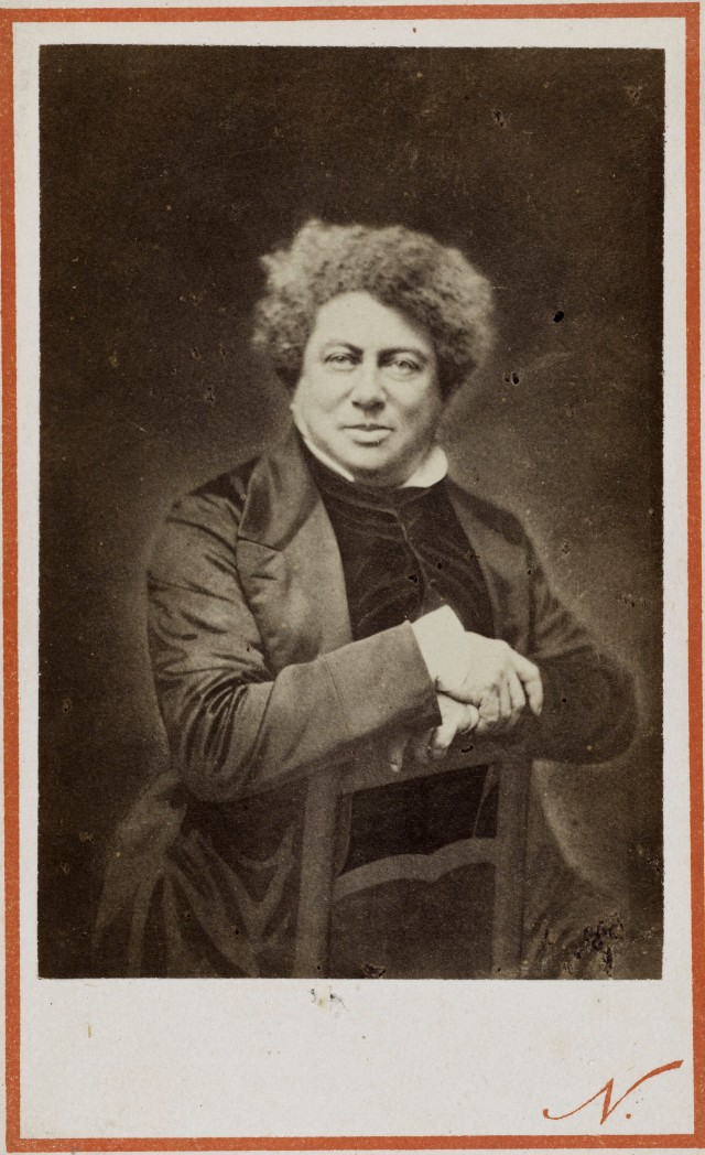 Портрет Александра Дюма, 1870. Автор Надар