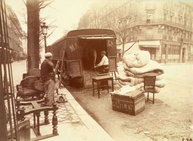 Бульвар Сен-Мишель, Париж, 1898. Автор Эжен Атже