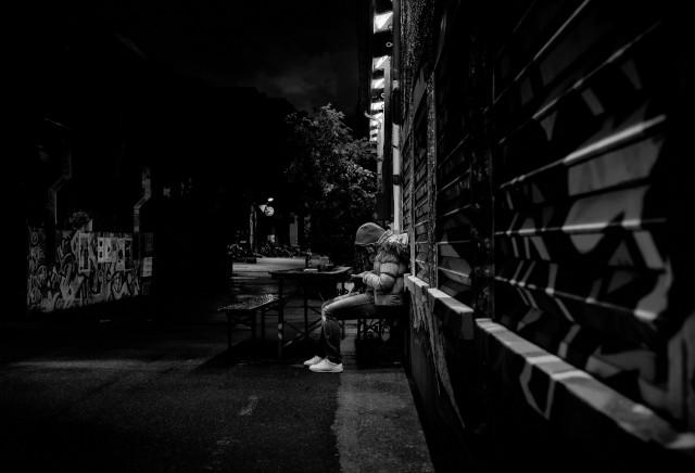 Городские уличные портреты. Автор Йенс Крауэр (13)