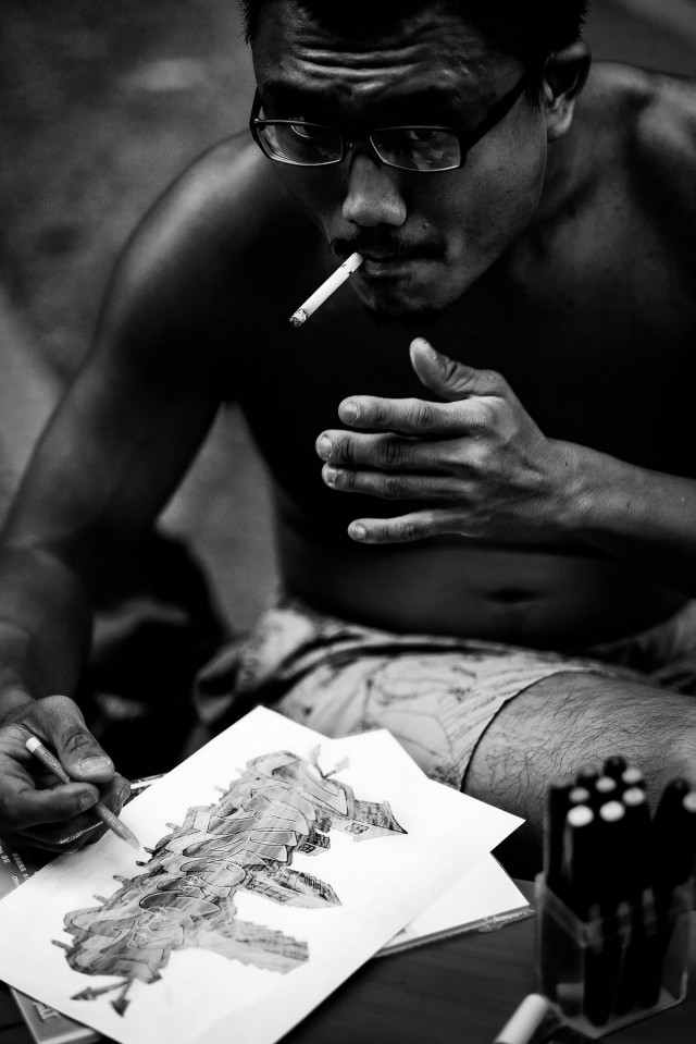 Городские уличные портреты. Автор Йенс Крауэр (17)