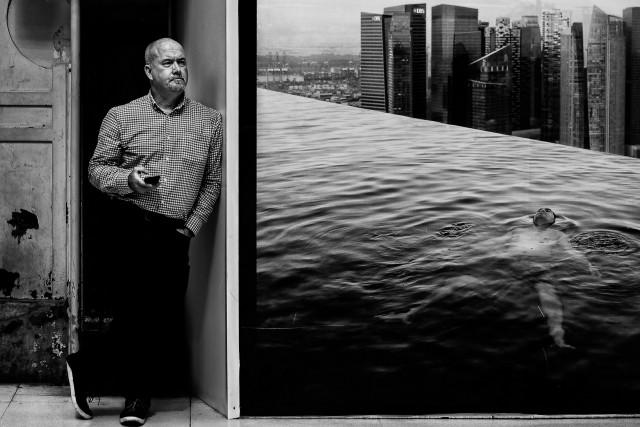 Городские уличные портреты. Автор Йенс Крауэр (22)