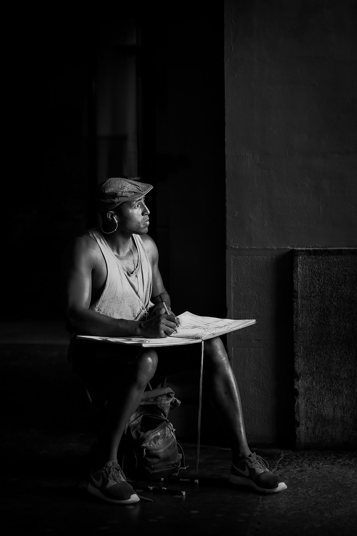 Городские уличные портреты. Автор Йенс Крауэр (5)