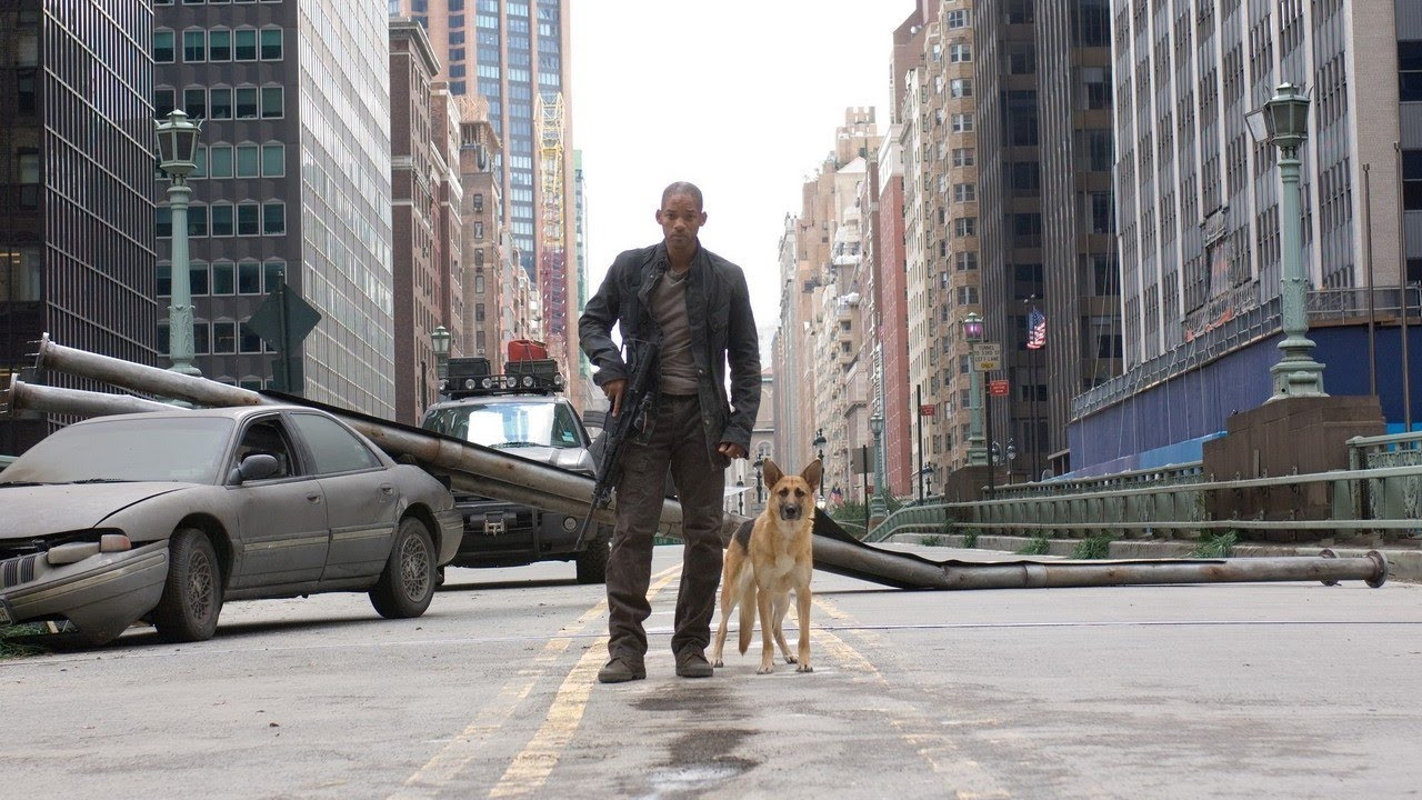 «Я – легенда»: последний человек на Земле, собака и монстры