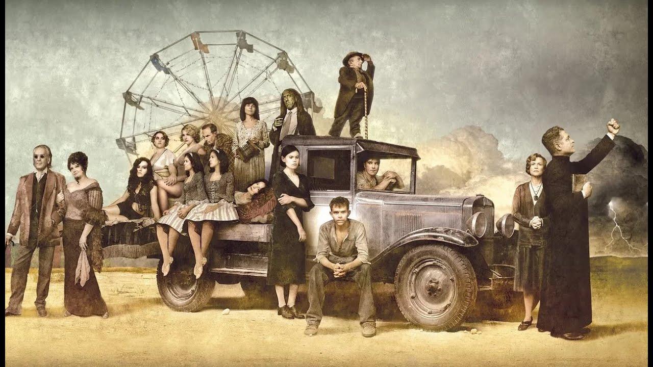 «Карнавал»: Мистические знамения, цирк уродов, Великая депрессия
