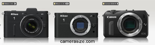 canon-eos-m-vs-nikon-1-j1-v1-size-comparison