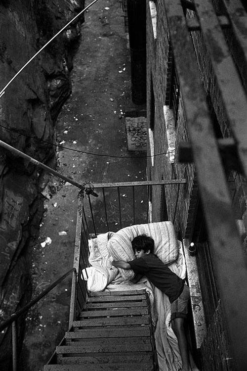 Фотограф-документалист Стивен Шеймс : «Парни из Бронкса»
