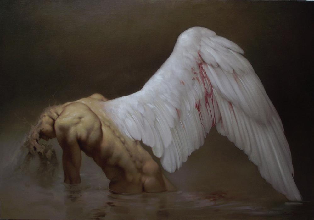 Интимные и темные картины Роберто Ферри (Roberto Ferri)