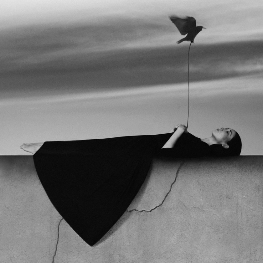 Загадочные концептуальные картины Ноэль Освальд