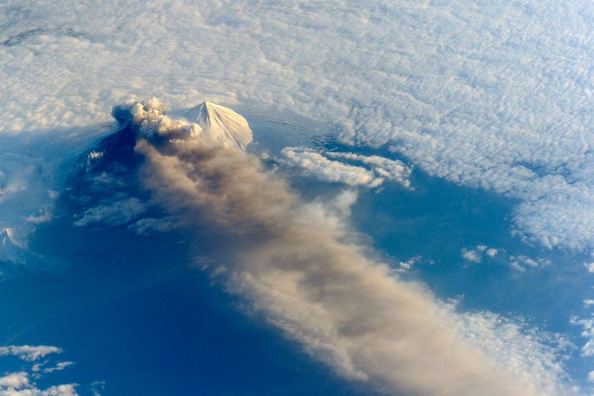 Вулкан Павлова, Аляска