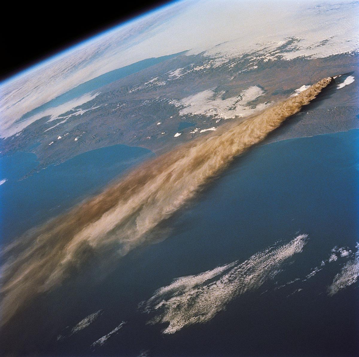 Вулкан Ключевской, Россия