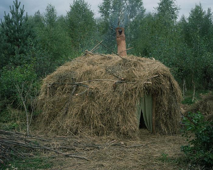 Отшельники в фотопроекте Данила Ткаченко «Побег»-2
